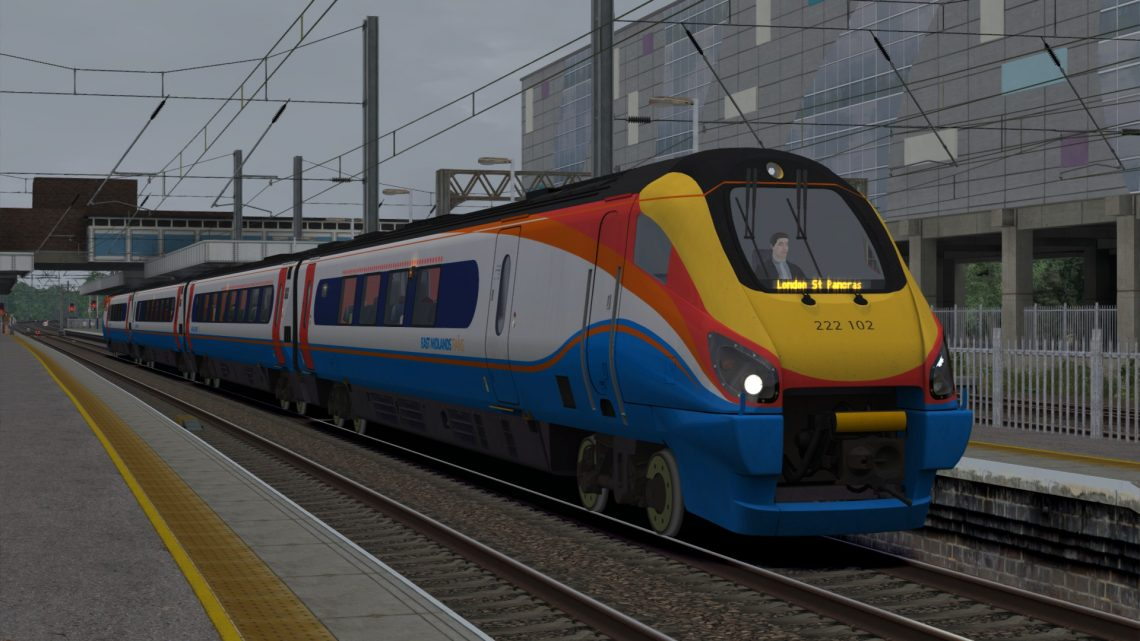 **SUB ONLY** 0917 Corby to St Pancras