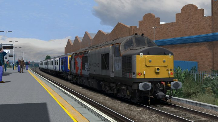 5Z37 0710 Allerton TMD to Loughborough Brush