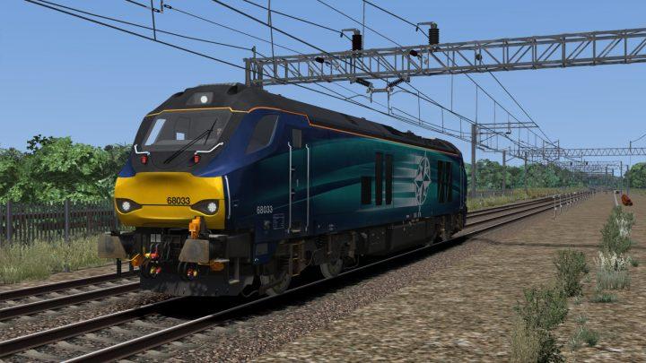 0Z68 1047 Manchester Int Depot to Gresty Bridge Depot