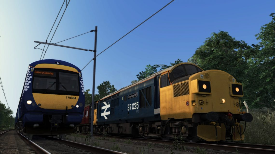 """1Z37 17:35 Bo'ness – Edinburgh Waverley """"SRPS Routes and Branches"""" (2018)"""