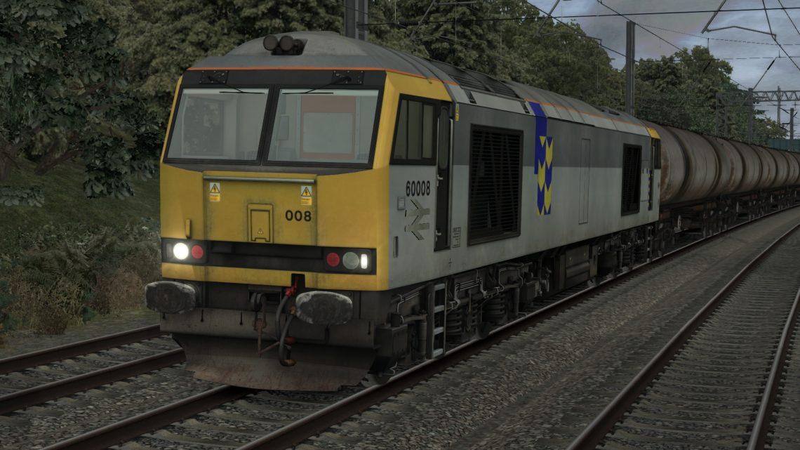 [Train Simulator 2021][TASH][Class 60 DTG]Grangemouth to Kingsbury Sidings