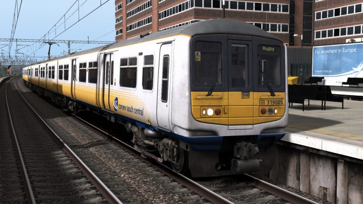 [Train Simulator 2021][TASH][Class 319 Connex SC]Gatwick Airport to Rugby 1999 – WCML South