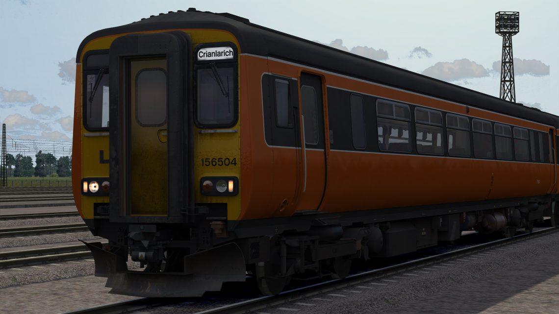 NXSR/SPT Class 156 Roller Blinds