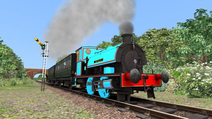 Thomas The Tank Engine Reskin – 0-4-0 ST