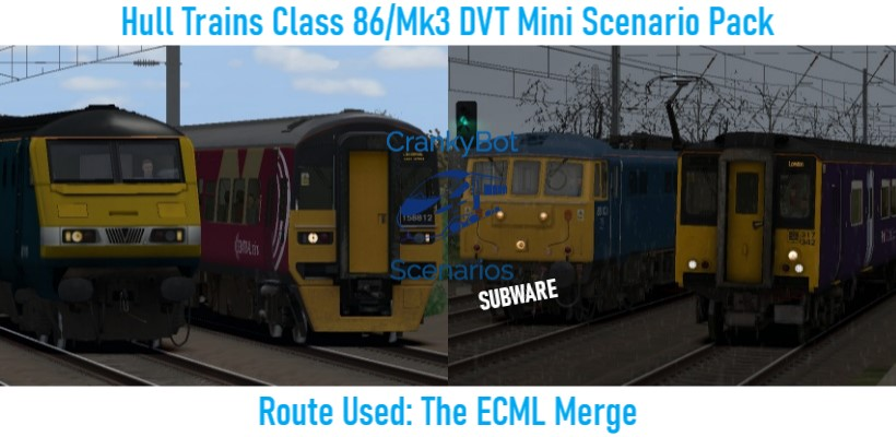 *SUB ONLY* [CB] Hull Trains Class 86/Mk3 DVT Mini Scenario Pack