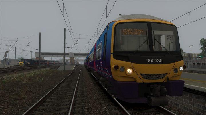 1P07 0710 Peterborough to London Kings Cross
