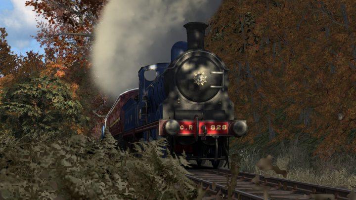 [GG-BK] Caledonian Railway 419 and 828 at Bo'ness