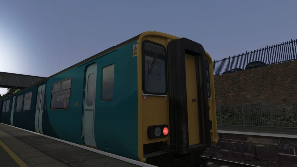 Class 150: Ex-ATW No Stripes