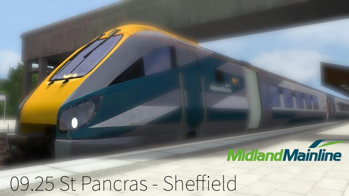 [GRP] 222 003 09.25 St Pancras – Sheffield [2006]