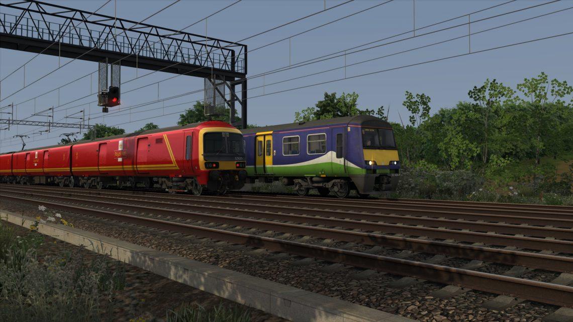 2T08: 1826 Tring to London Euston (2009)