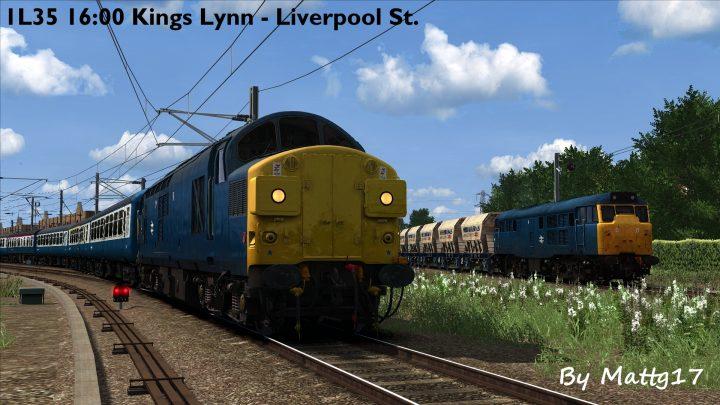 1L35 16:00 Kings Lynn – Liverpool Street (1981)