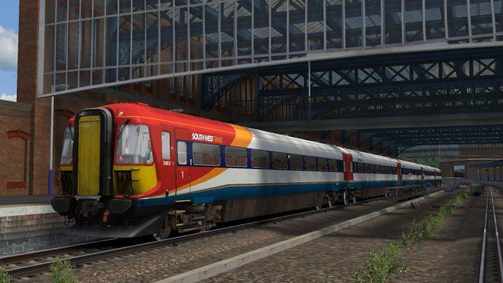 1W36 14:34 Wareham – London Waterloo (2003)