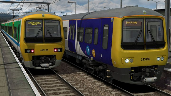 Class 323 – Arriva Northern & Centro Liveries
