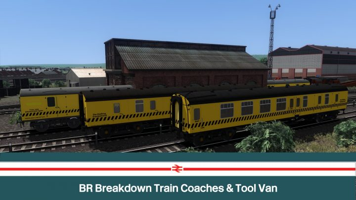 BR Breakdown Train Coaches