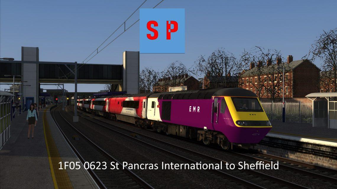1F05 0623 St Pancras International to Sheffield