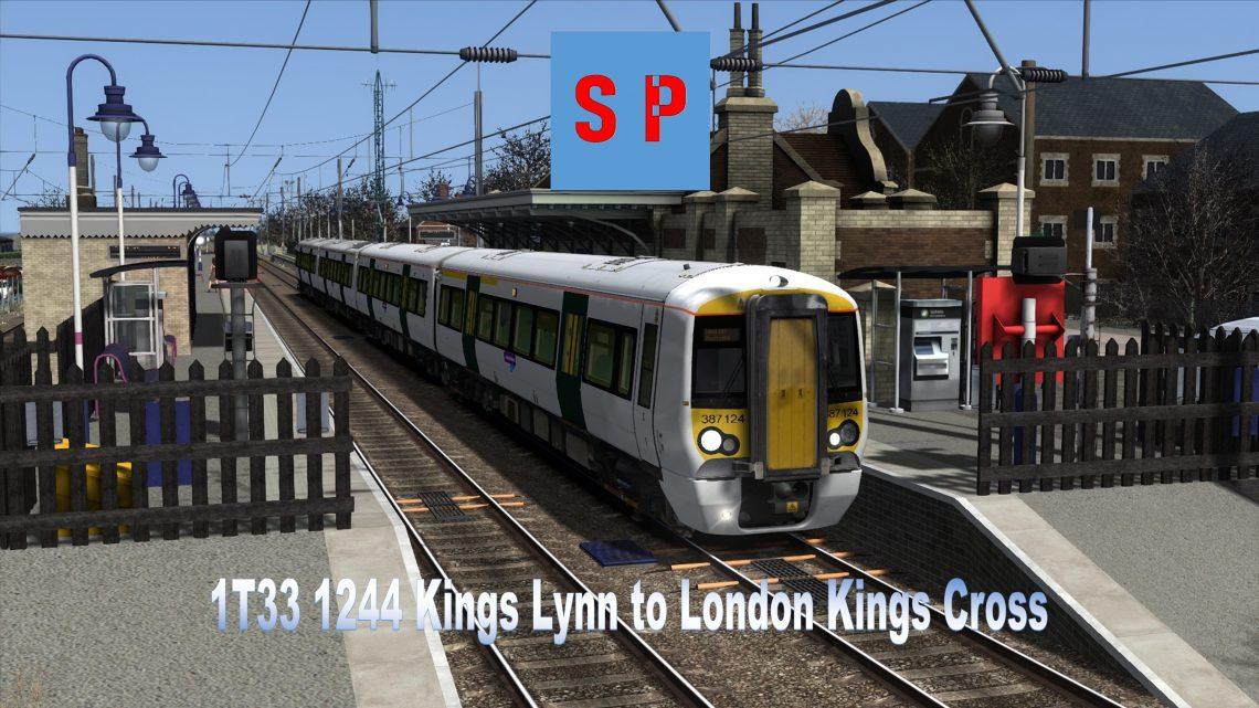 1T33 1244 Kings Lynn to London Kings Cross