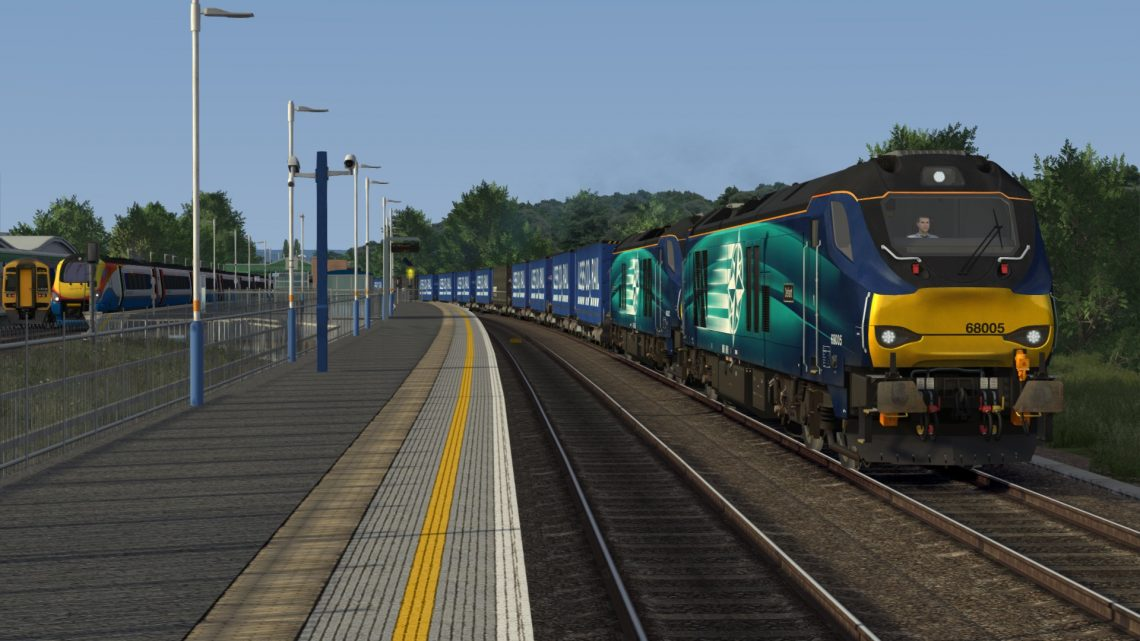 4Z48 Mossend to Daventry (On the MML)