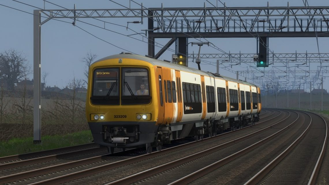 5Z24 Wolverton Centre Sidings to Soho LMD