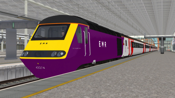 43274 East Midlands Railway (EMR) HST Reskin