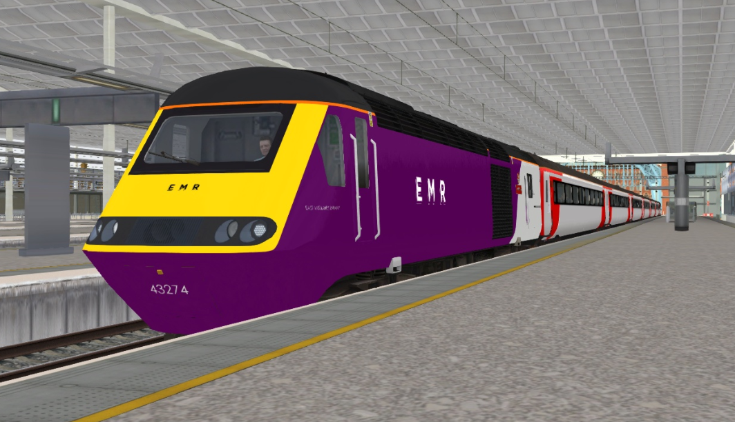 43274 East Midlands Railway (EMR) HST Reskin