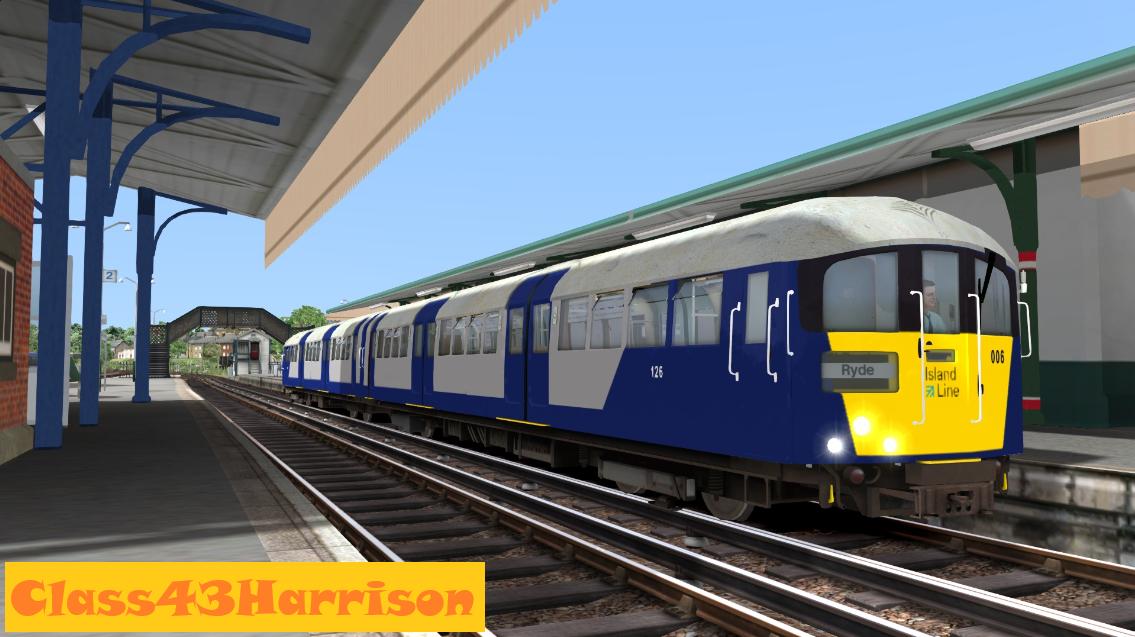 SWR Island Line Class 483