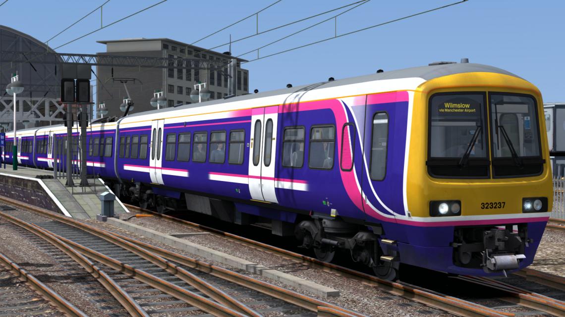 Class 323 Ex-FirstNorthwestern Livery V1.1