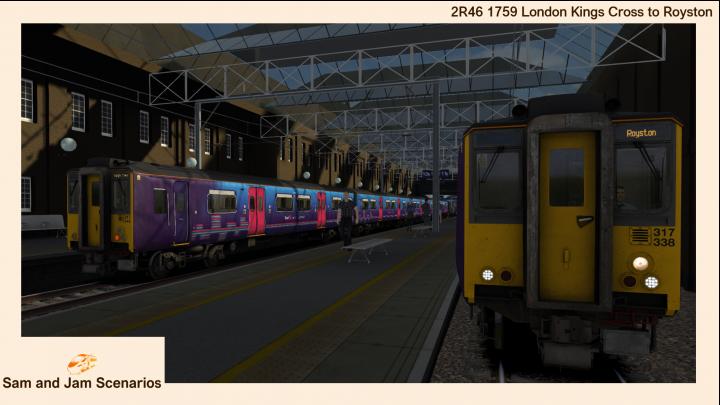 2R46 1759 London Kings Cross to Royston
