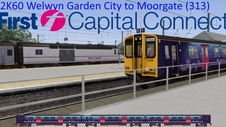 [SR] 2K60 Welwyn Garden City to Moorgate (313)