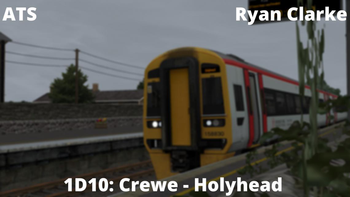 [RC] 1D10: Crewe – Holyhead