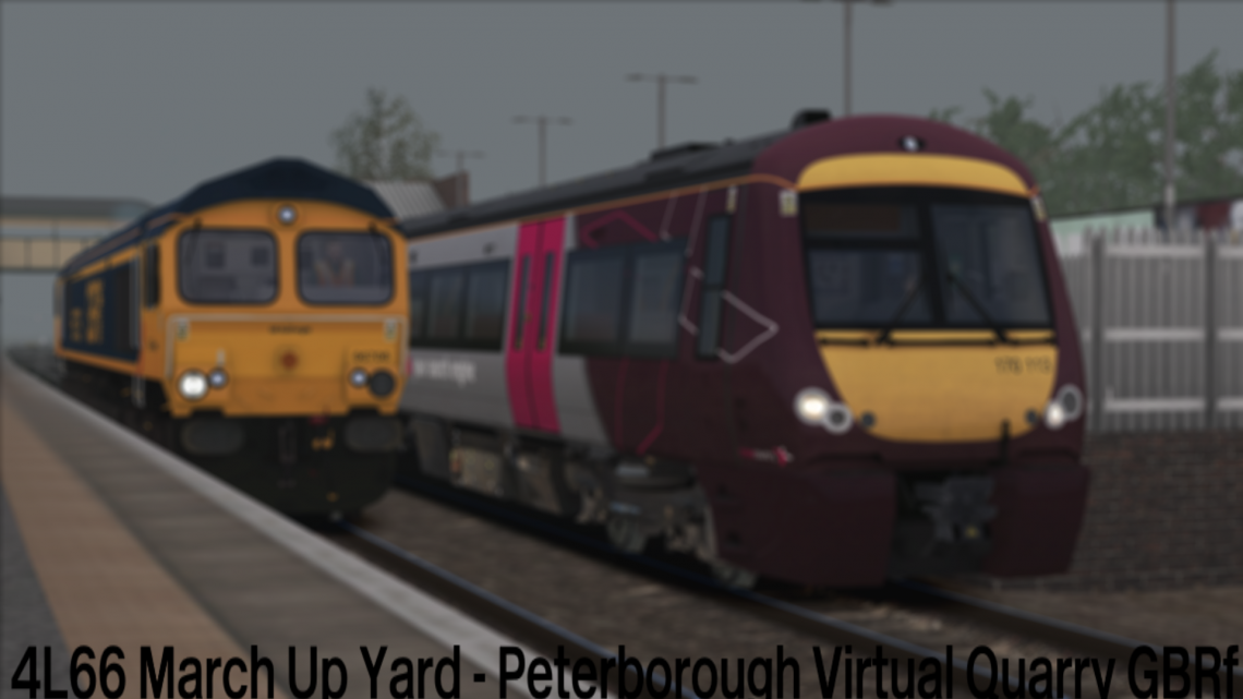 (GB) 4L66 March Up Yard – Peterborough Virtual Quarry GBRf