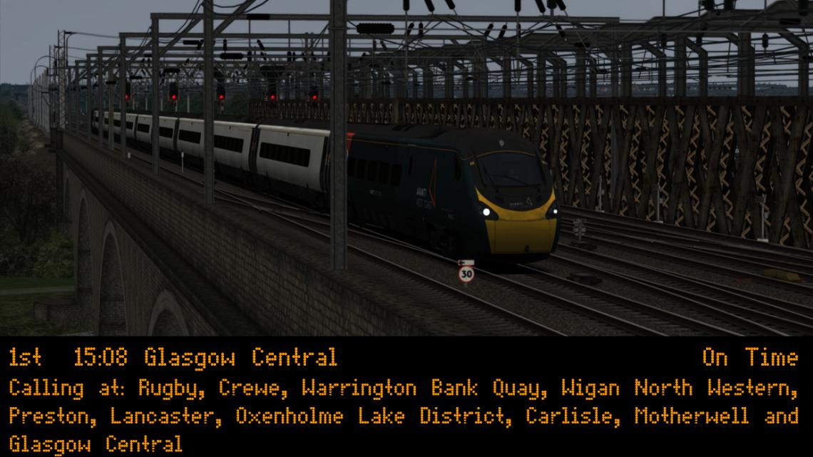 (wg) 1S78 1508 London Euston – Glasgow Central (Full Journey)
