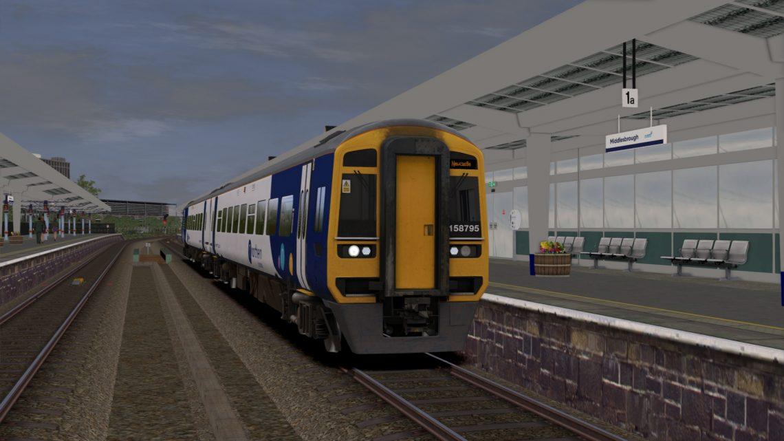 2N08 0557 Carlisle to Nunthorpe