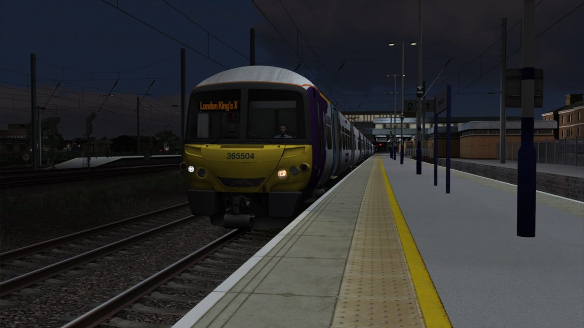 1P99 0325 Peterborough to London Kings Cross