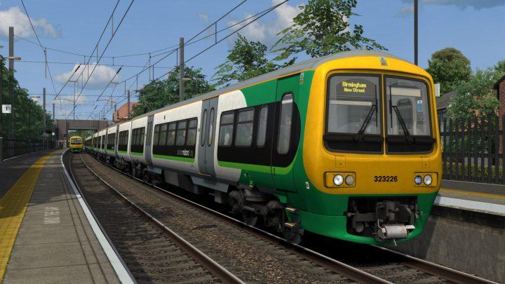 2R35 1701 Lichfield TV to Birmingham New St