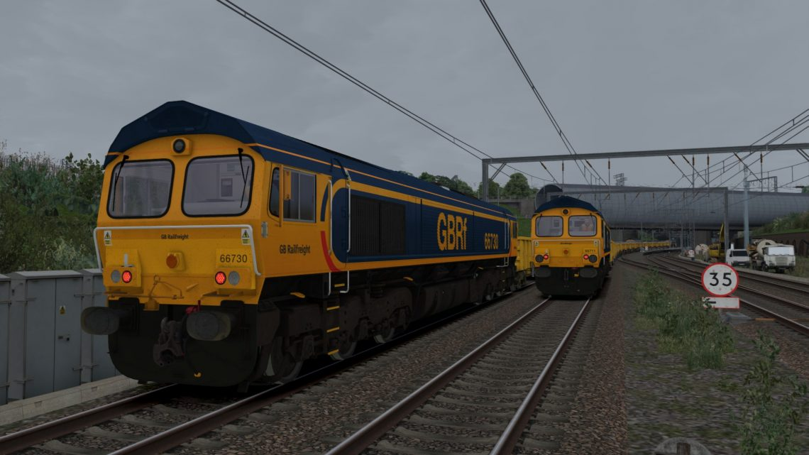 6G90 0923 Doncaster Up Decoy to Belle Isle
