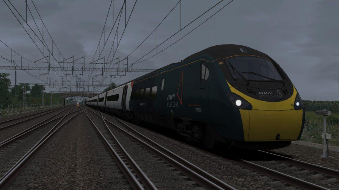 1T42 1254 London Euston to Stafford