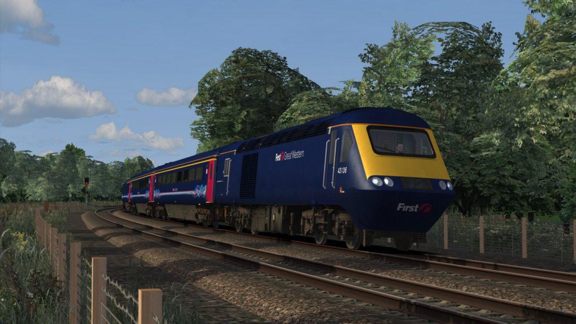 1L88 1755 Cardiff to Paddington