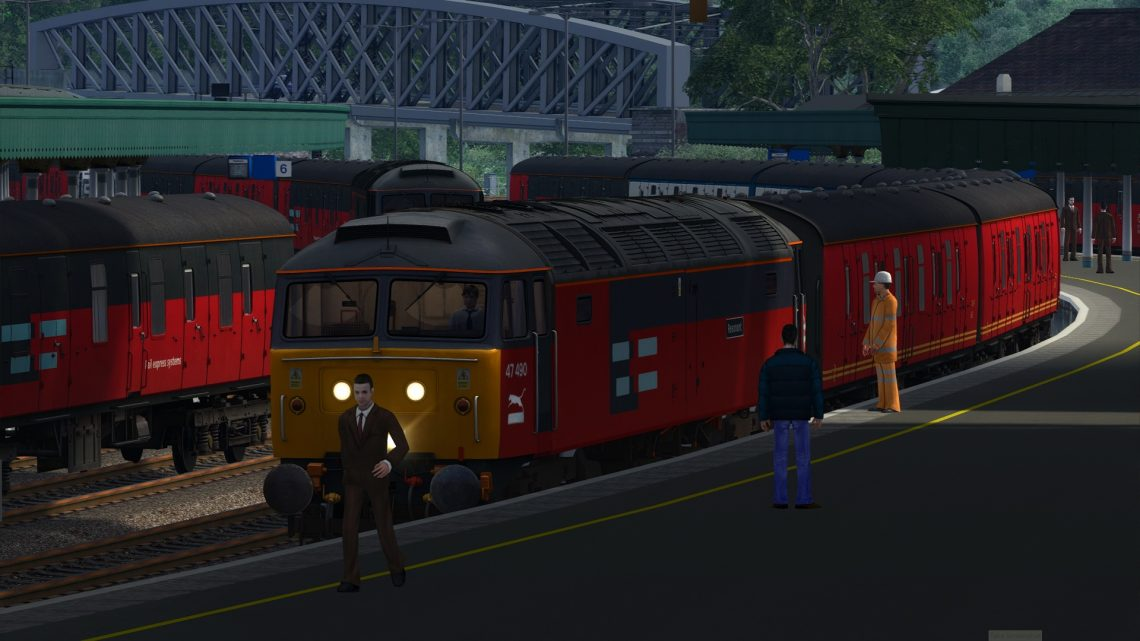 1A74 14:25 Swansea Paddington Van train [BP]