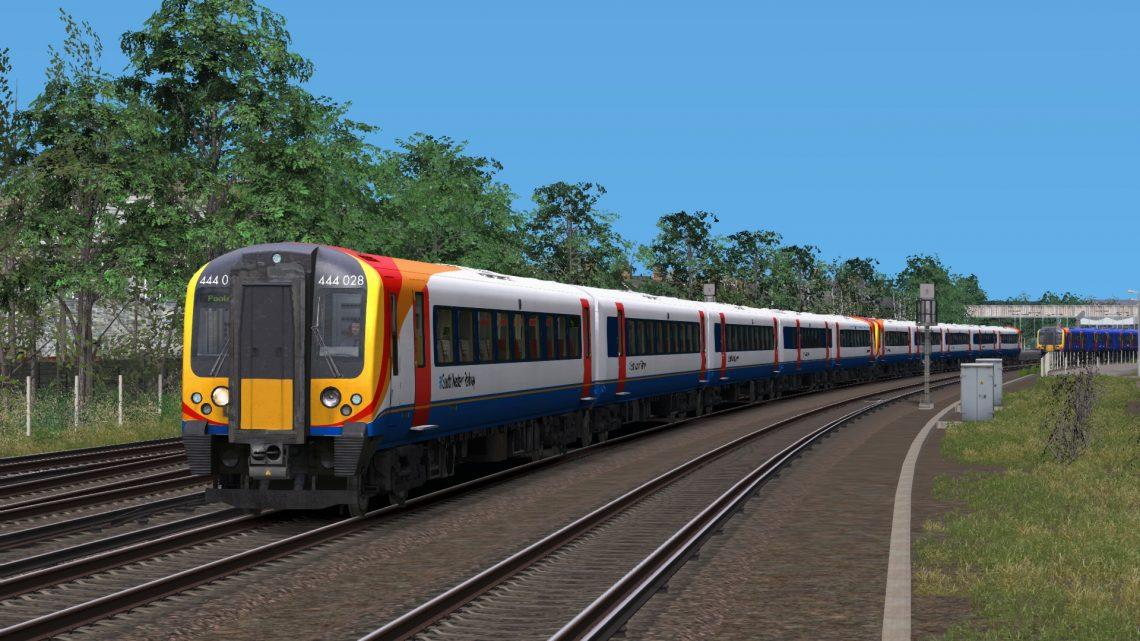 1B23 11:35 London Waterloo to Poole