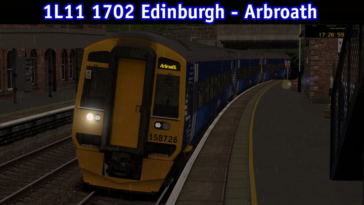 1L11 1702 Edinburgh – Arbroath