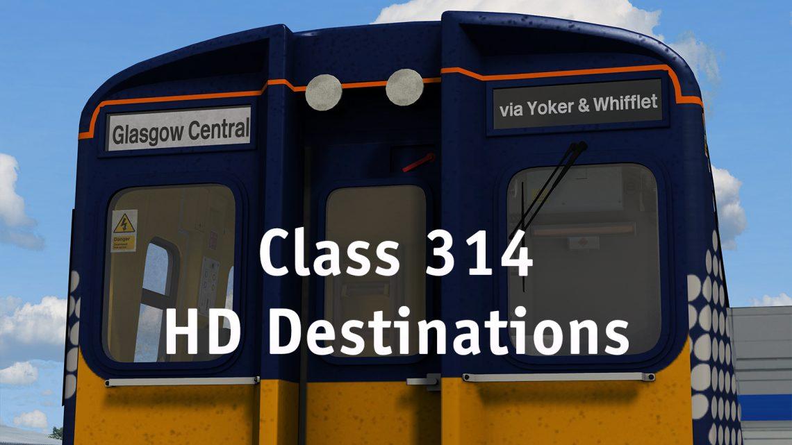 Class 314 Scottish HD Destinations