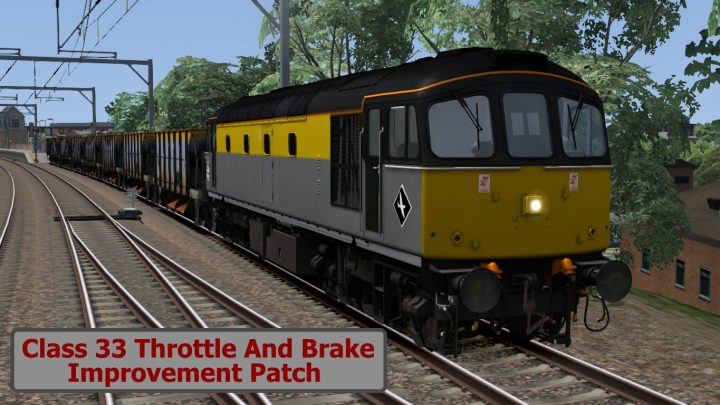 Class 33 Throttle And Brake Improvement Patch