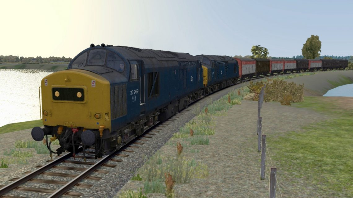 4S04 Lancaster to Smalmstown MoD – BR Blue Class 37 Express Freight