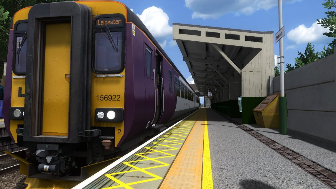 2L64 1328 Nottingham to Leicester