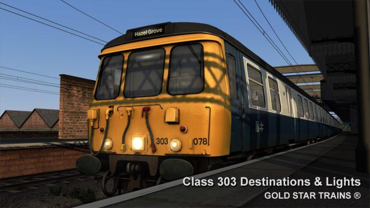 Class 303 Destinations & Lights Update Pack