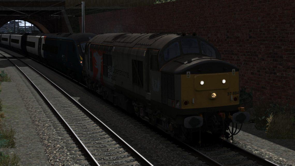 2W56 Preston-Carlisle Sidings