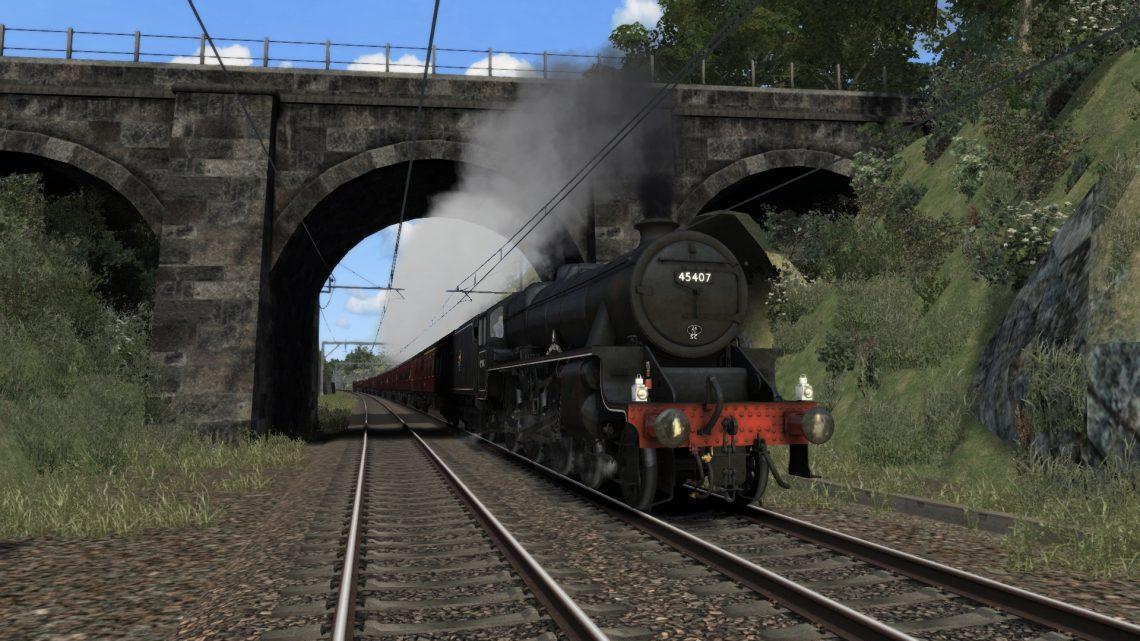 [GG-RT] S.R.P.S. Railtours The Forth Bridge & Borders Steam Special