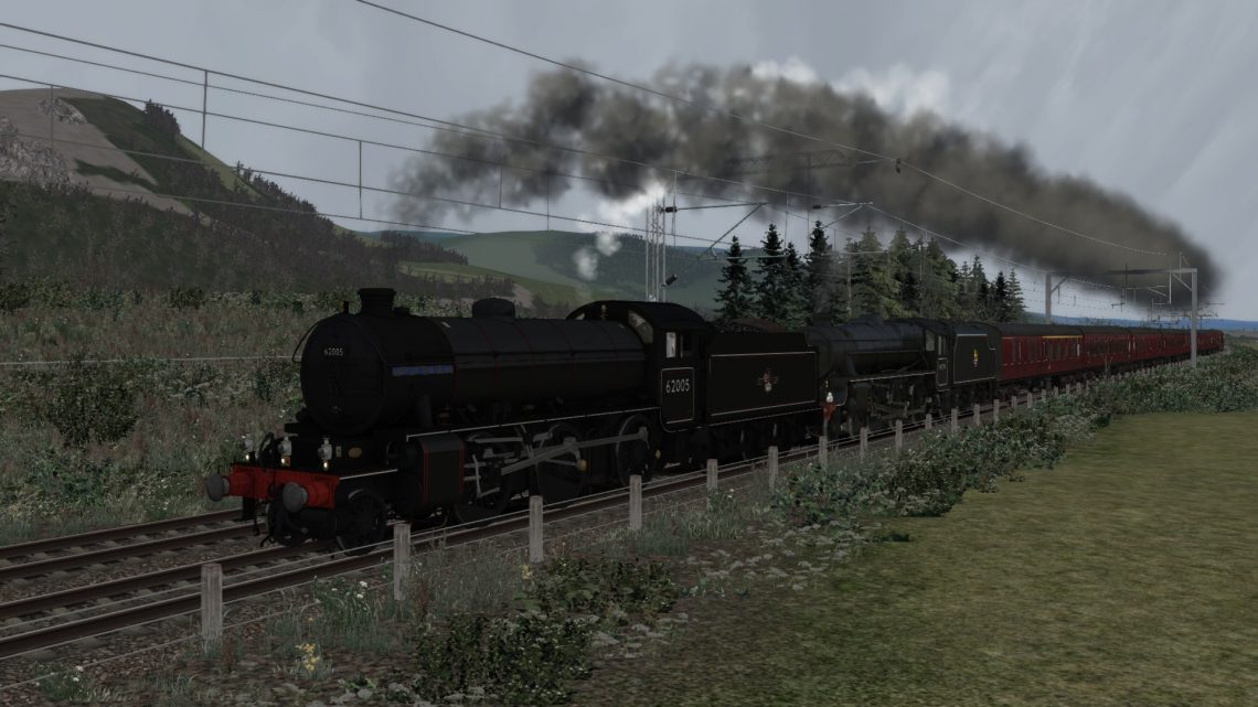 [GG-RT] 5Z80 Carnforth – Fort William Jacobite Stock Movement (2013)