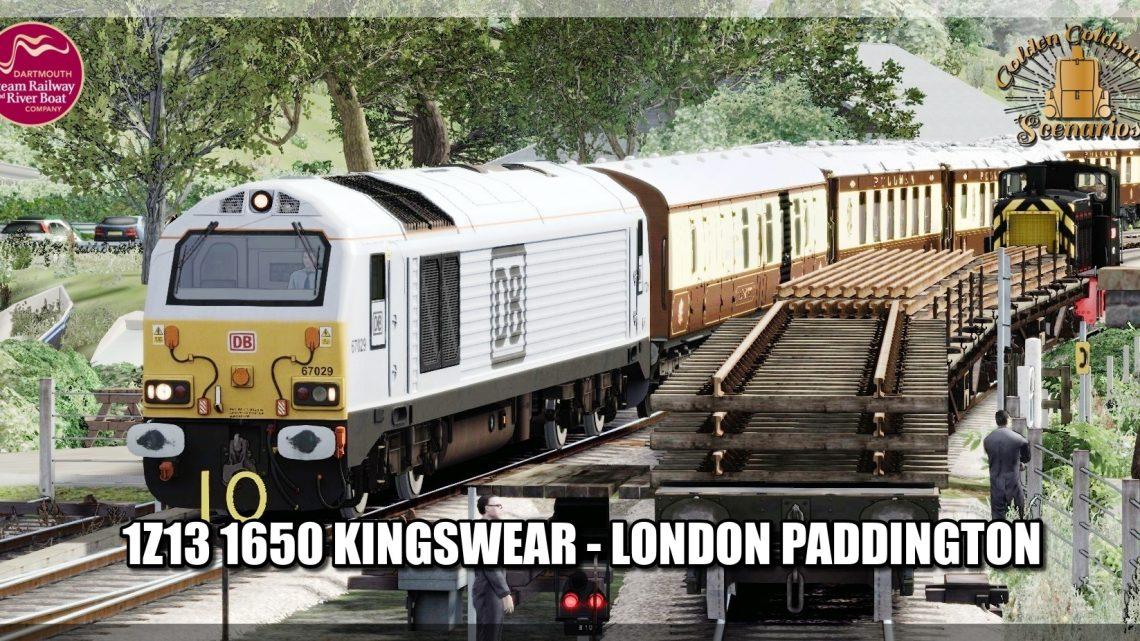G.G.S. 1Z13 16:50 Kingswear to London Paddington