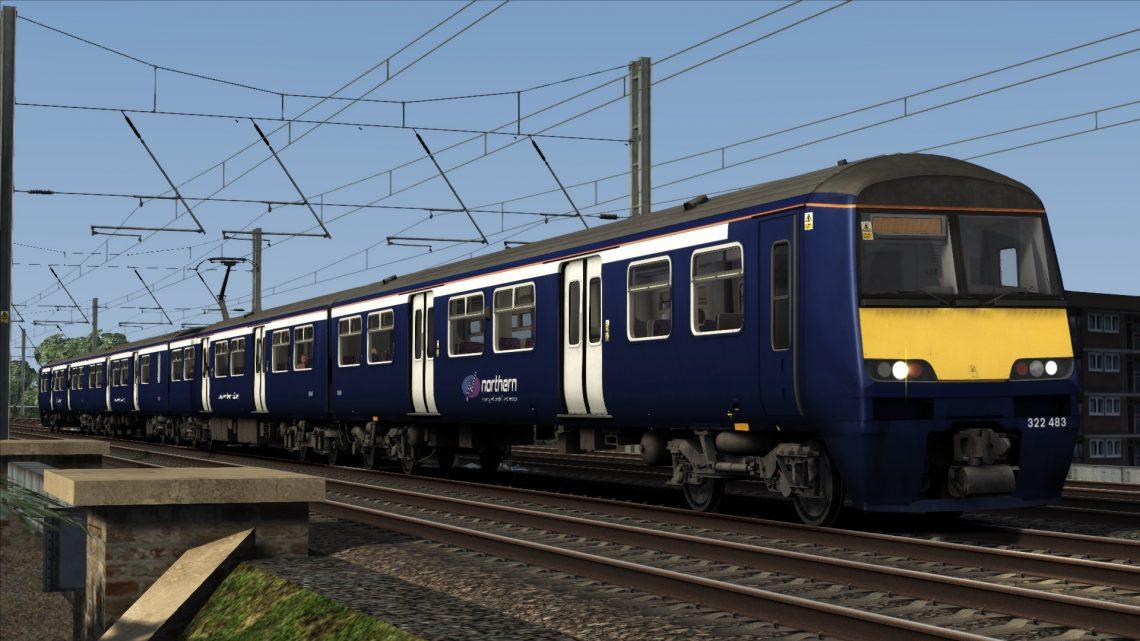 Class 322: Ex-Scotrail Northern Rail
